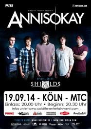 ANNISOKAY am 19.09.2014 im Kölner MTC