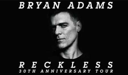 BRIAN ADAMS - Reckless 30th Anniversary Tour 2014