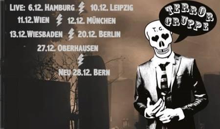 TERRORGRUPPE: Tourdaten