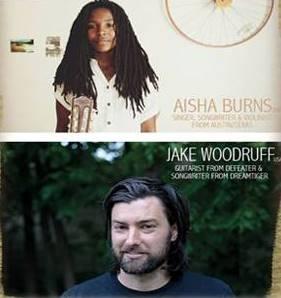 Jake Woodruff (DREAMTIGERS, DEFEATER) auf Tour mit Aisha Burns