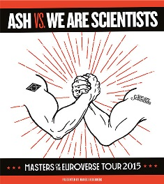 Ash & We Are Scientists: Im November gemeinsam live in Deutschland