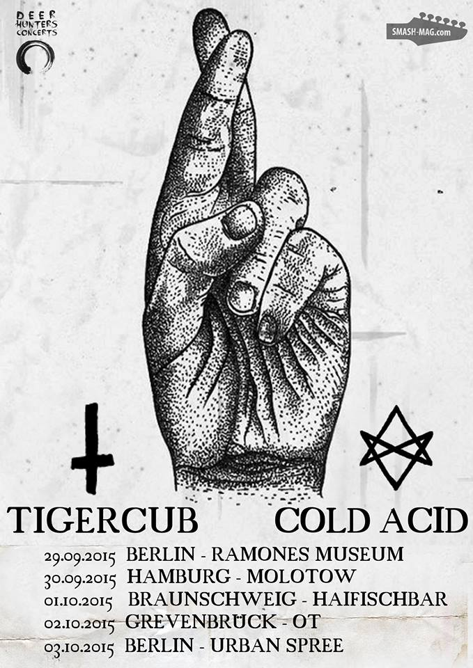 Tigerclub - Tourdaten - Support Cold Acid