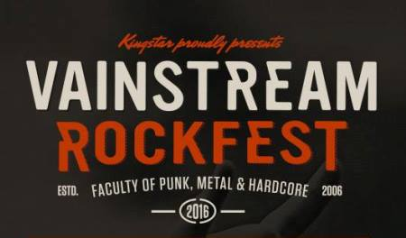 Vainstream Rockfest 2016