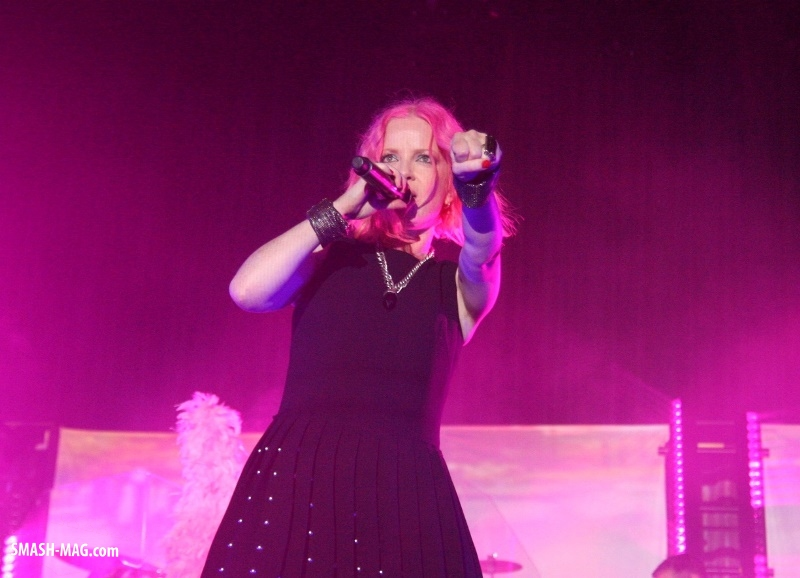 Garbage live in Köln - 20 Years Queer Tour - (31.10.2015, Köln, Palladium)