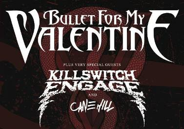 Bullet For My Valentine - Tour 2016