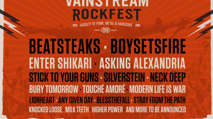 VAINSTREAM ROCKFEST 2018 neue Bands bestätigt