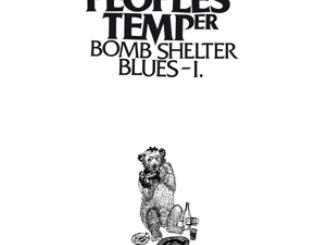 PEOPLES TEMPER - Bomb Shelter Blues I